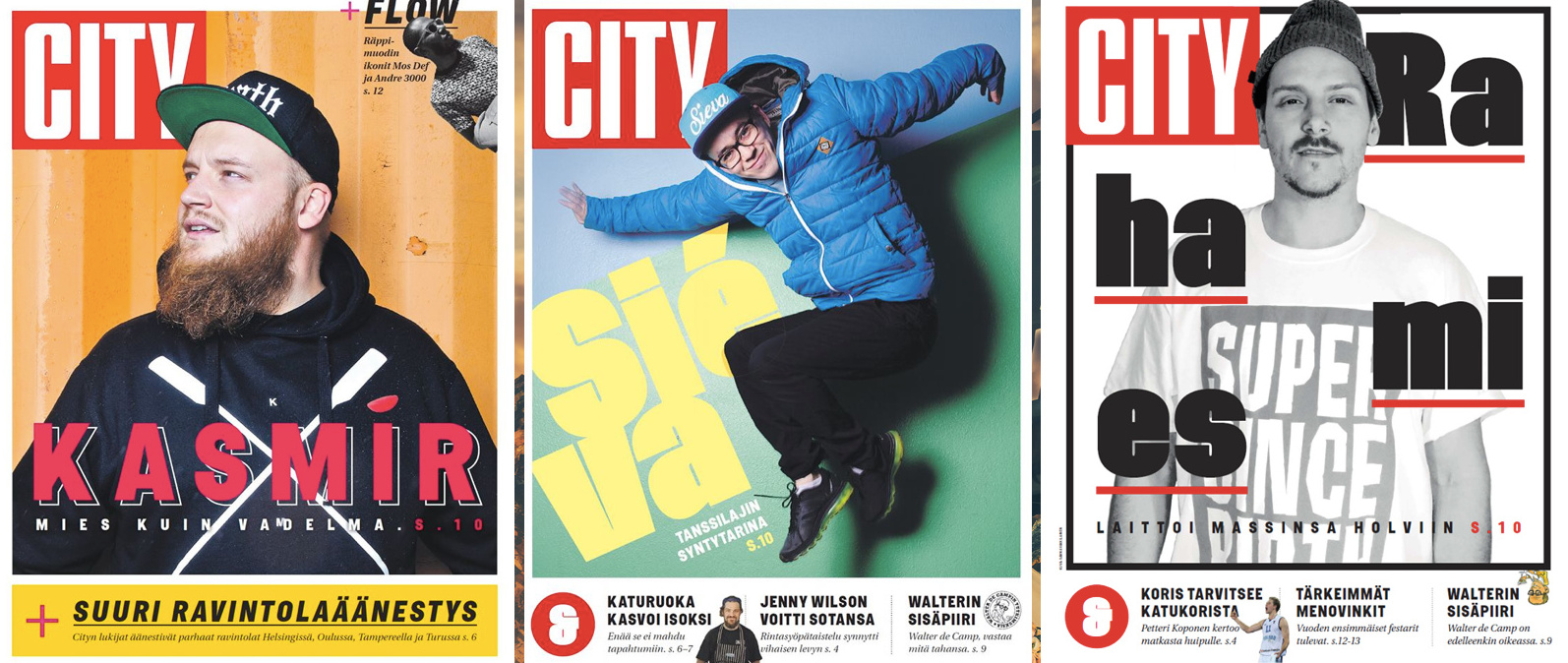 Tältä näyttää uusi City-lehti